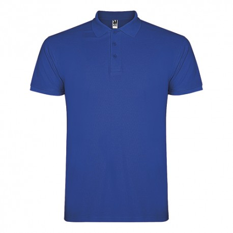Polo Caballero Algodón 100% Royal Blue