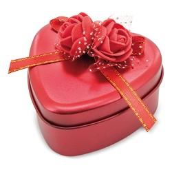 Estuche Corazón Rosas