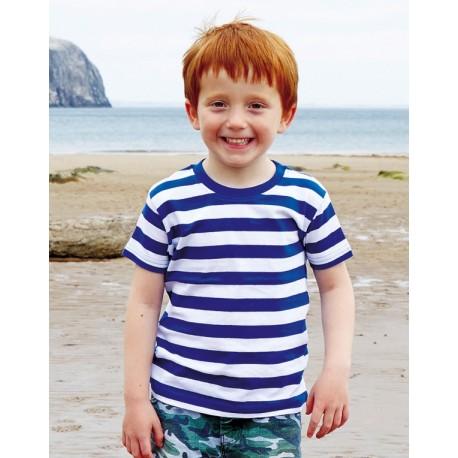 Camiseta a rayas niño