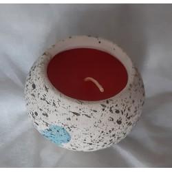Vela en cerámica