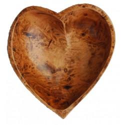 Cuenco Corazón de Madera