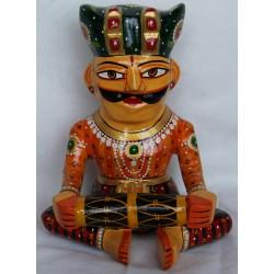 Músico del Rajastan