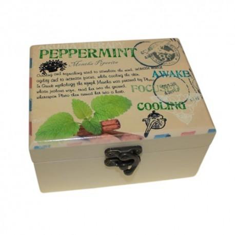 Caja de Aromaterapia 12 botellas